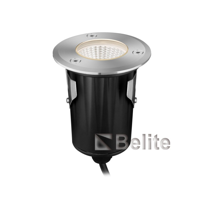 9W RGB embedded aluminum shell material LED ground floor lamp plaza park lawn garden LED buried lamp.