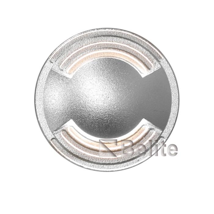 BELITE led inground light 2W 316#Stainless steel cover 3000K AC220V DC24V input voltage