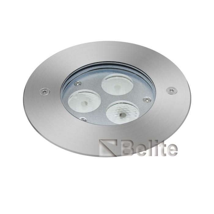 BELITE IP68 6w recessed underwater pool light 3000K 12V CREE LED