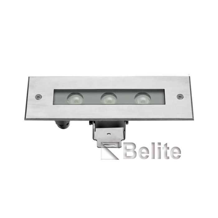 BELITE IP68 6w linear underwater spot light SS316 RGB CREE LED