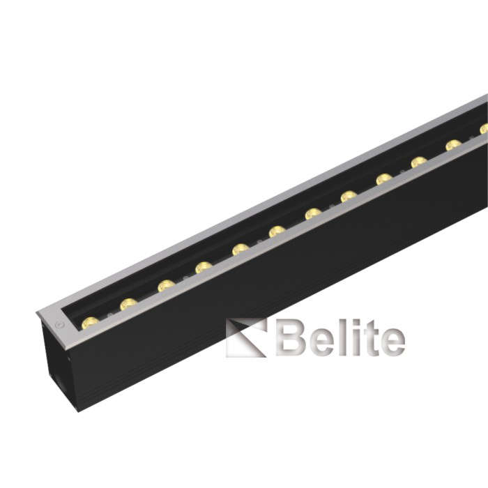 BELITE 24W Linear Inground Light 0.3m 0.5m 1m 1.2m RGB