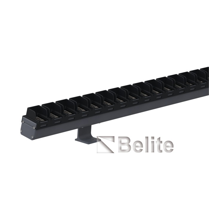 72W DC24V 3000K slim line LED wall washer 48pcs 0.2W LED 1 Meter Length