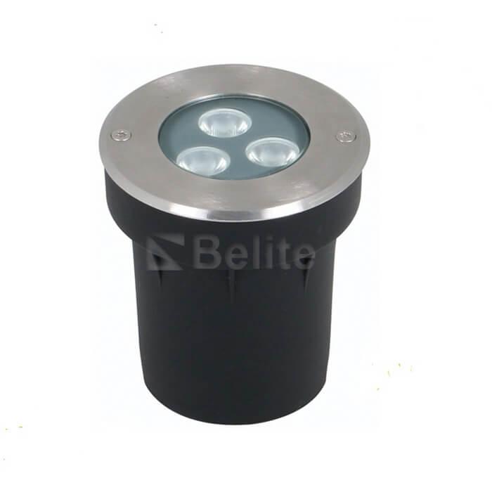 BELITE IP67 DMX512 RGB led inground light 3W 6W 9W CREE/EPISTAR led
