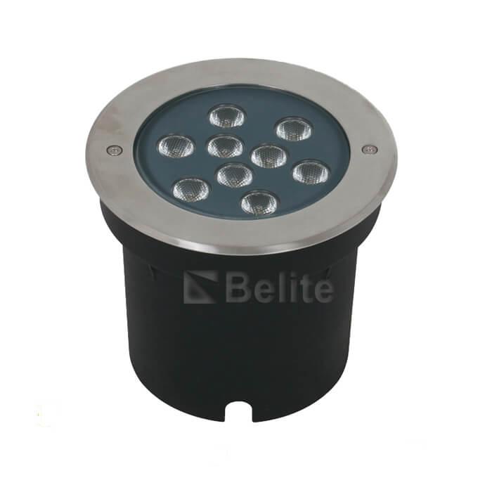 BELITE 9W 18W RGBW outdoor led inground light IP67 CREE narrow angle 5/10/15 degree