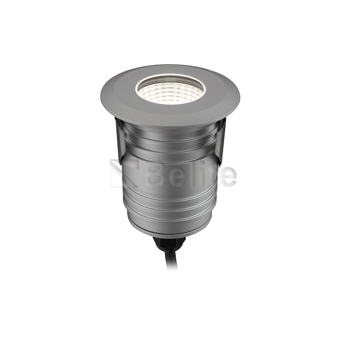 BELITE 9W IP67 led inground light 3000K/4000K/5000K/R/G/B 12/24VDC 24/40 degree