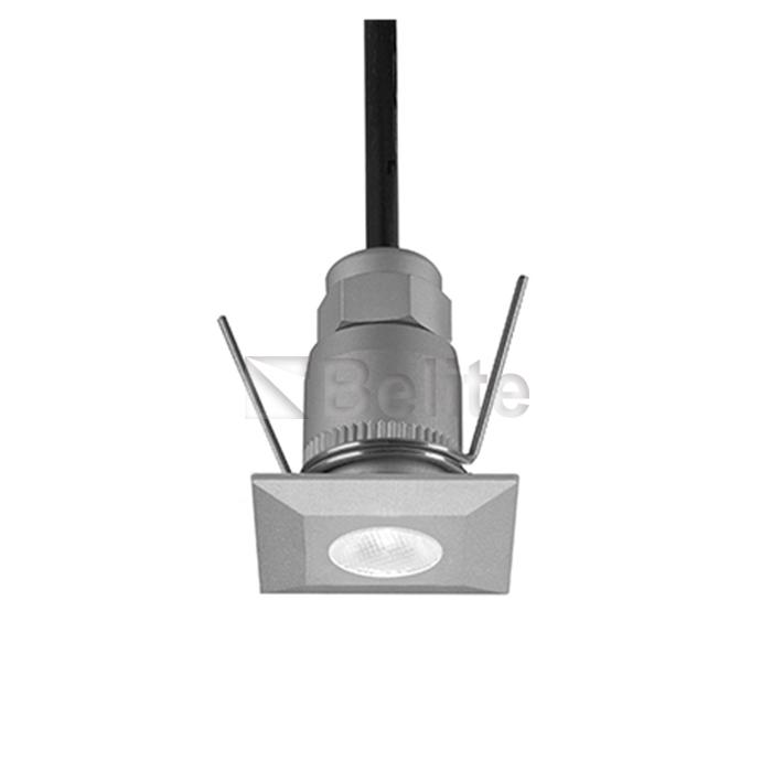 BELITE 1w outdoor square led step light 3000K IP67
