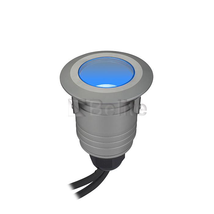 BELITE IP67 1-10V dimmable RGB led inground light 3*3W 12V/24V AC/DC