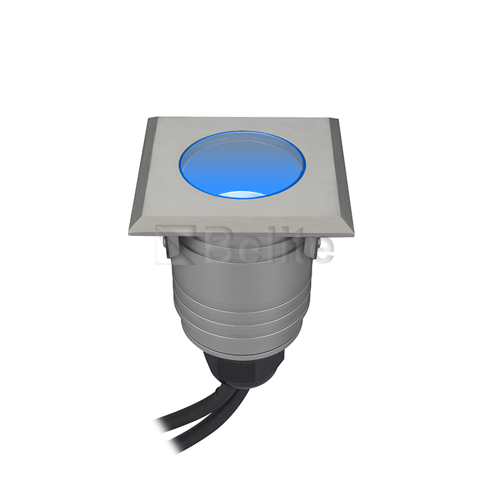 BELITE DMX512 RGB led inground light IP67 3*3W 12V/24V AC/DC