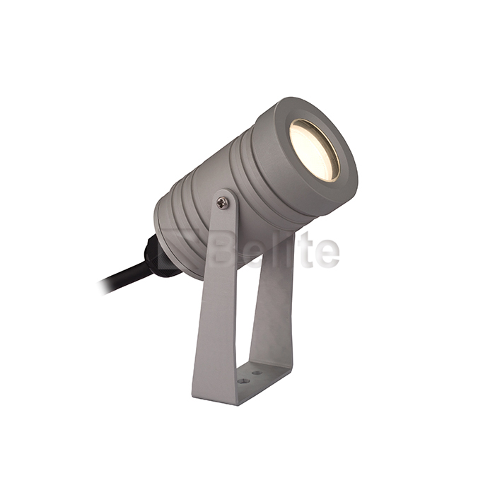 1W round led light emitting light led aluminum projection lamp 1W small projection light for three years.