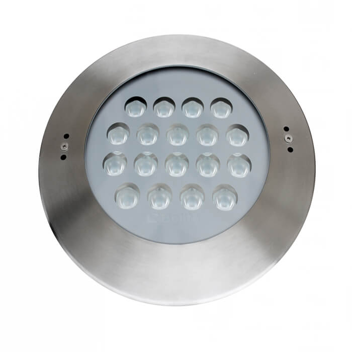 BELITE IP68 54w recessed led pool light RGB 3 IN 1 DC24V OSRAM CREE