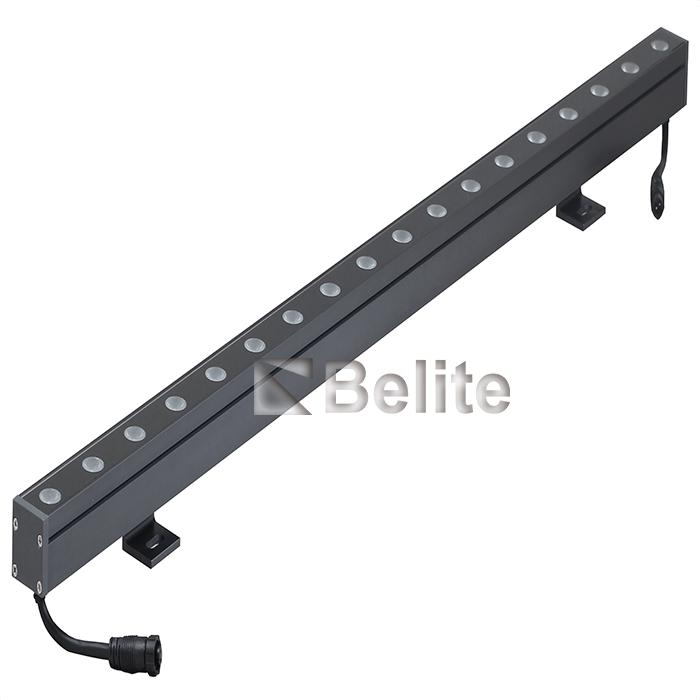 18W 24W 36W LED 0.3M 0.5M linear wall washer light with DC24V RGB RGBW