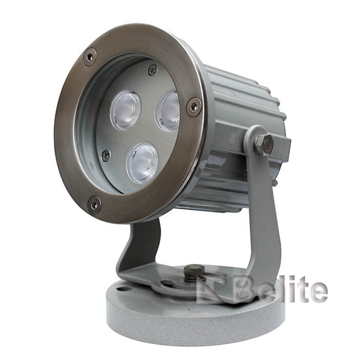 BELITE IP66 9W LED Landscape Spot Light RGB 3 in 1 24VDC