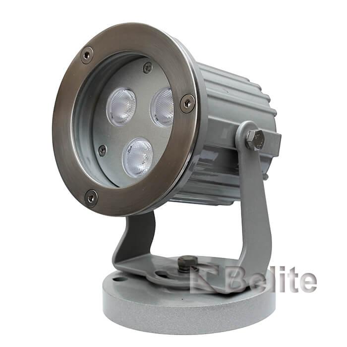 BELITE IP66 9W LED Landscape Spot Light RGB 3 in 1 24VDC