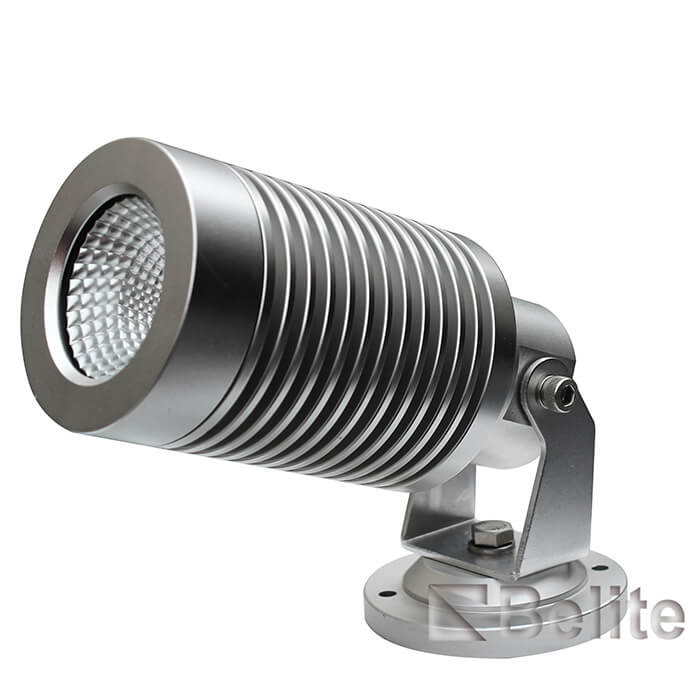12W COB IP66 led garden spot light with spike 240VAC