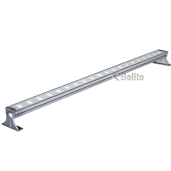 20w 60w 0.5M 1M LED linear wall washer light with DC24V/AC240V RGB RGBW