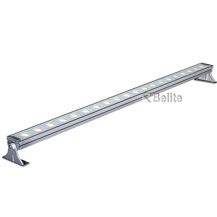 20w 60w 0.5M 1M LED linear wall washer light with DC24V/AC240V RGB RGBW
