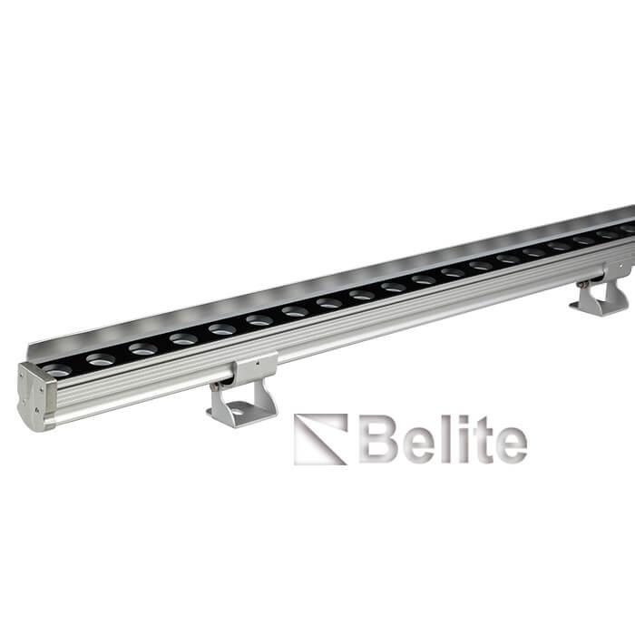 12W DC24V 3000K slim line LED wall washer 48pcs 0.2W LED 1 Meter Length