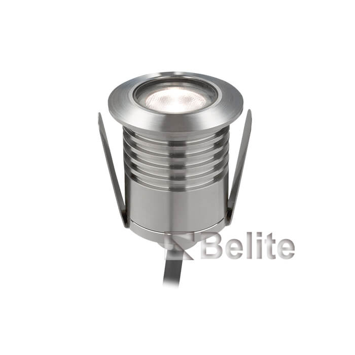 BELITE IP68 1w led recessed swimming pool light 3000K