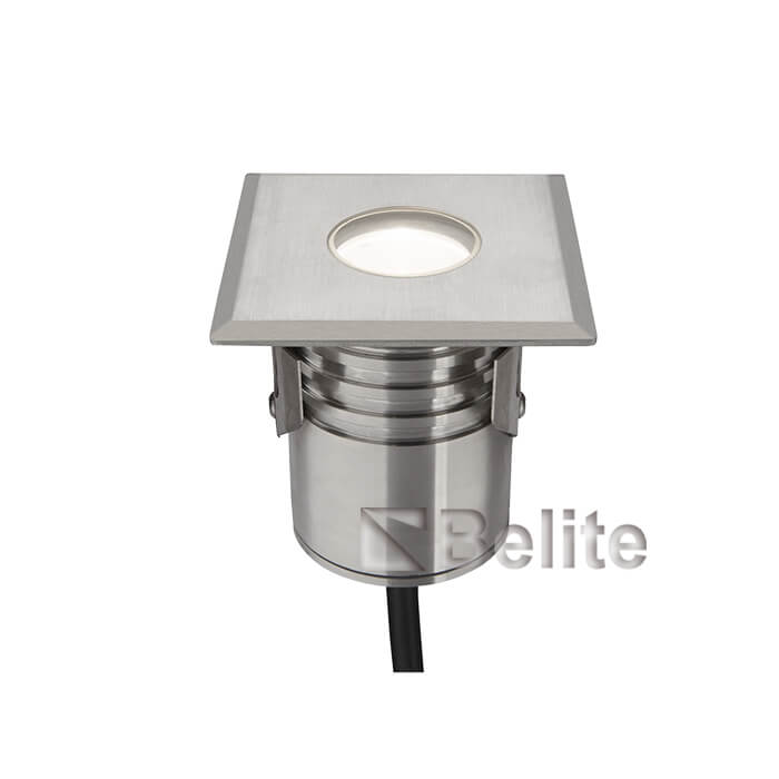 BELITE 3W LED underwater light stainless steel for swimming pool CNC