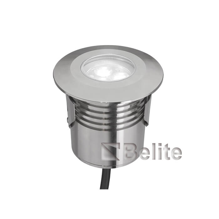 BELITE 8W led underwater light IP68 stainless steel swimming lfountain aquarium light