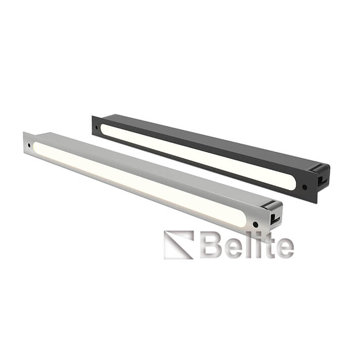 BELITE 0.6w stailess steel DC12V 80° IP65 4000K LED Linear Handrail Light