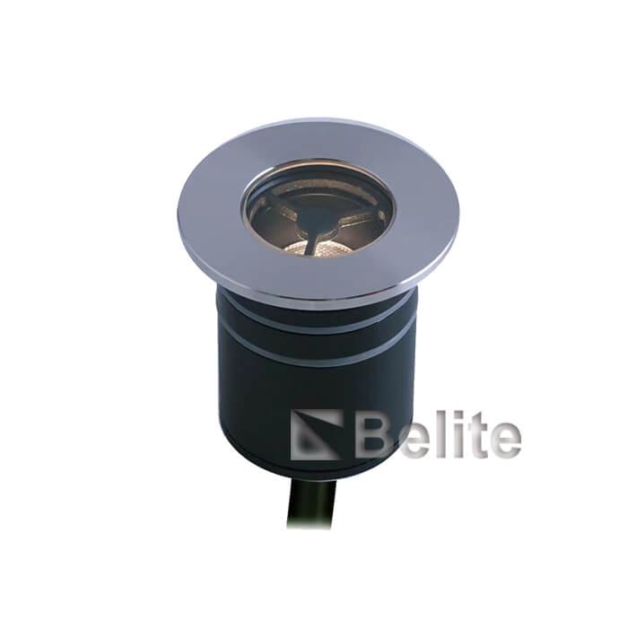 BELITE 2W led inground light DC12/24V CREE narrow angle 10º / 15º / 21º / 36º / 40º / 60º with honeycomb louver