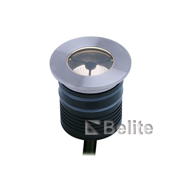 BELITE 7W led inground light DC12/24V Citizen narrow angle 10º / 15º / 21º / 36º / 40º / 60º with honeycomb louver