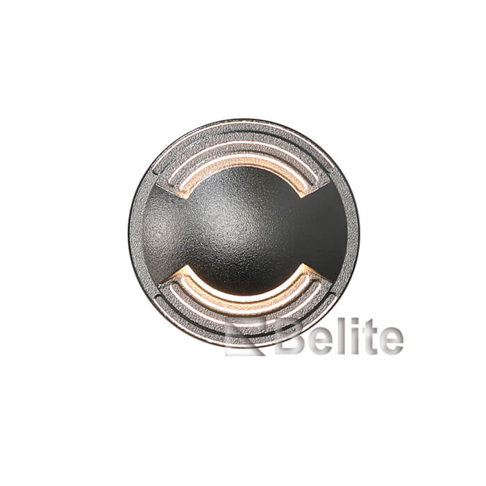BELITE led inground light 2W 316#Stainless steel cover 3000K AC220V DC24V input voltage