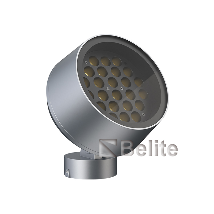 BELITE 40W 48W building flood light 1-10V dimmable narrow beam angle projector light