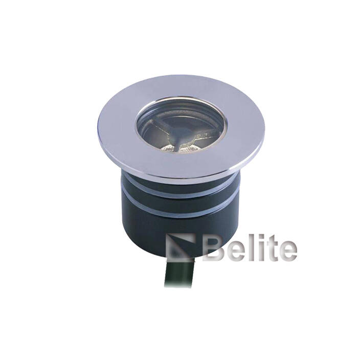 BELITE 3W led inground light CREE narrow angle  10º / 15º / 21º / 36º / 40º / 60º