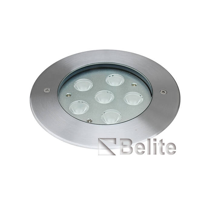 BELITE IP67 DMX512 RGB led inground light 9W12W OSRAM led