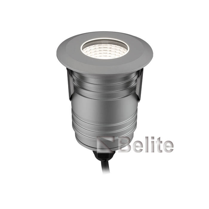 BELITE 9W IP67 led inground light 3000K/4000K/5000K/R/G/B 12/24VDC 24/40 degree