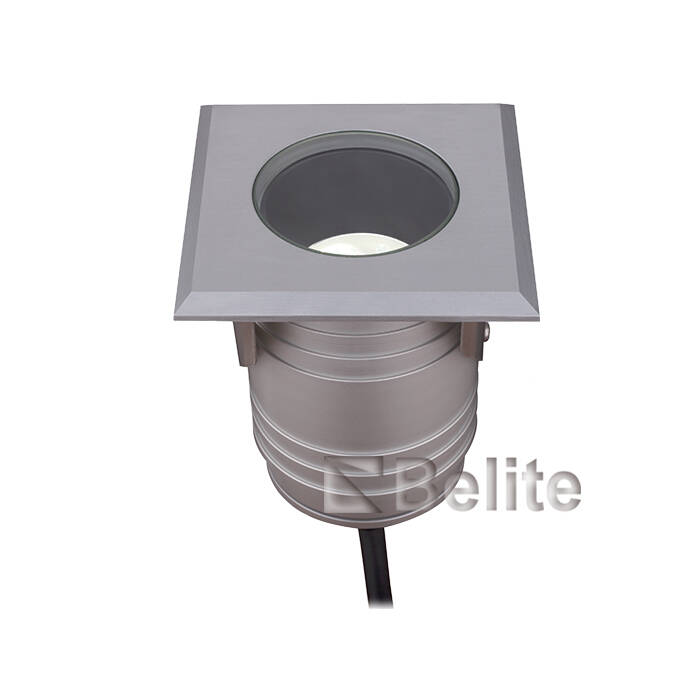 BELITE IP67 9W led inground light 12/24V AC/DC Citizen COB narrow angle 20/30/38 degree