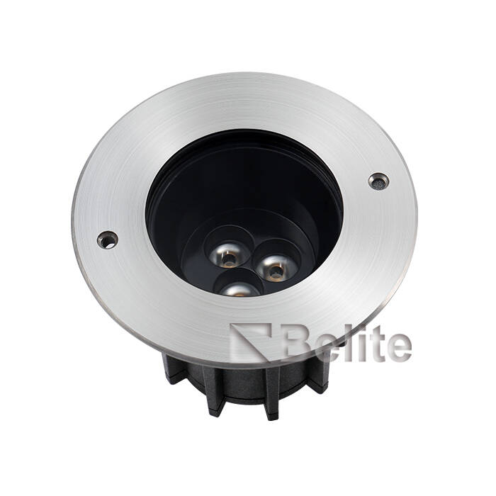 BELITE IP67 6*2W CREE XP-G LED+Lens,Depth Illuminant Anti-glare,Angle Unadjustable Inground light