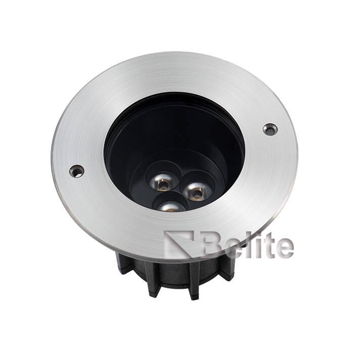 BELITE IP67 9*2W CREE XP-G LED+ Lens, Depth Illuminant Anti-glare, Angle Unadjustable Inground light