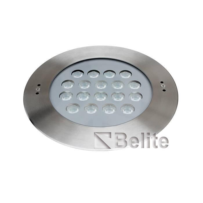 BELITE IP68 54w recessed led pool light RGB 3 IN 1 DC24V OSRAM CREE